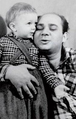 евгений леонов и его сын фото