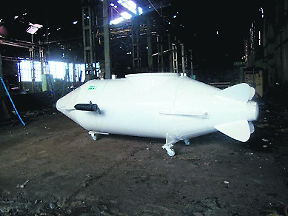 Одессит построил мини-субмарину в домашних условиях. Говорит проект увидел во сне, Морські бізнес-новини України