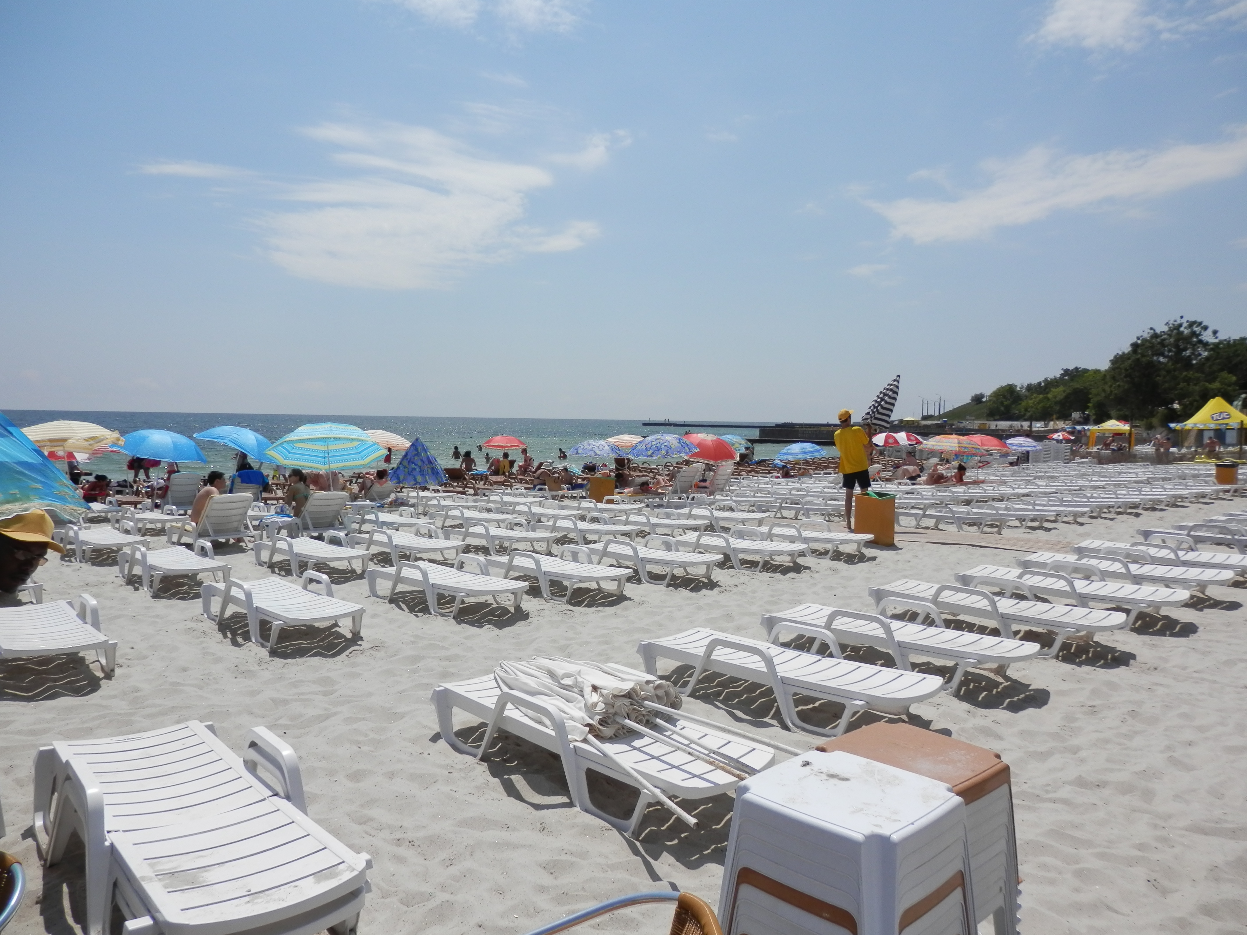 Платный пляж одесса 11