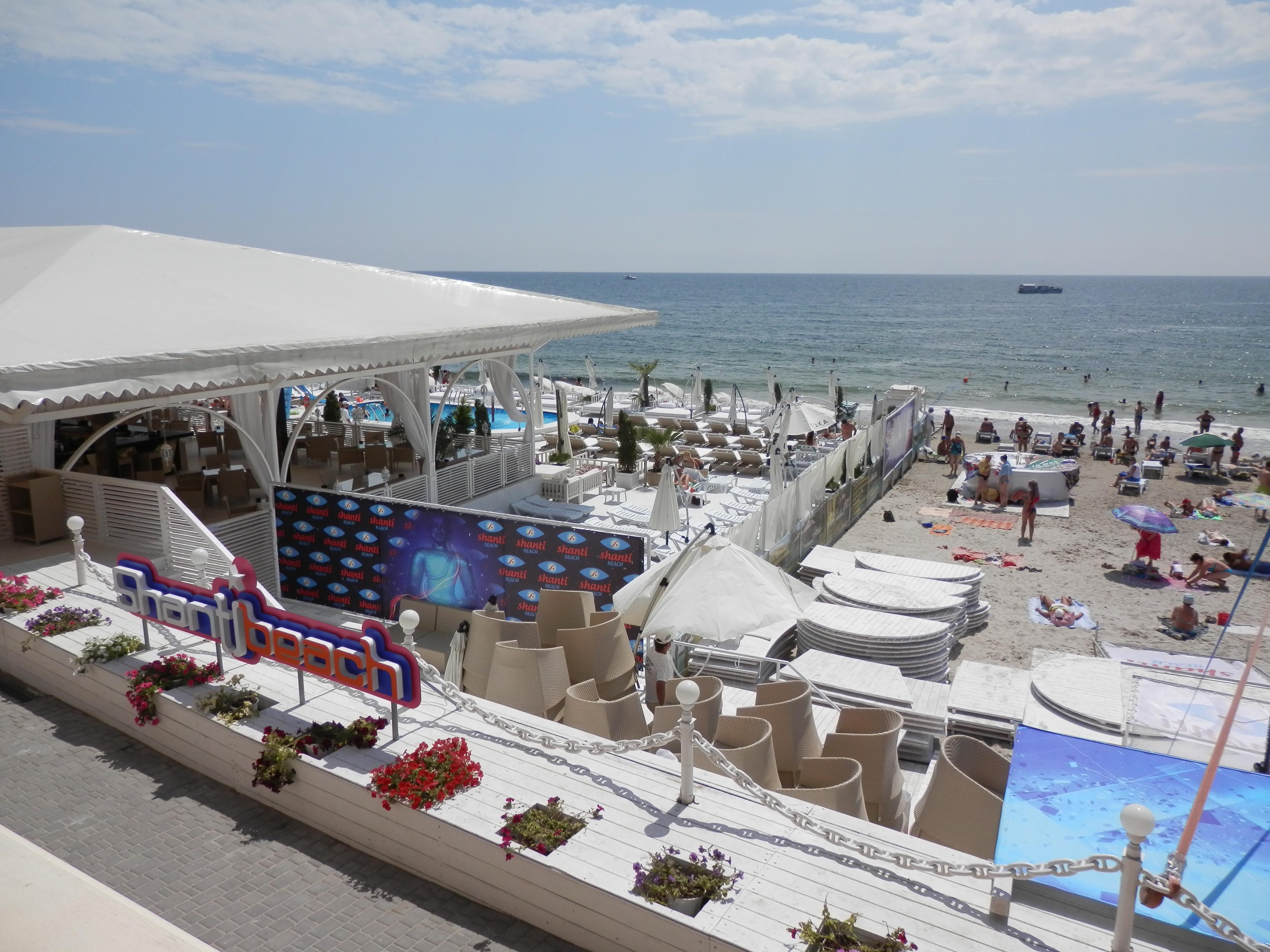 Платный пляж о одессе фото