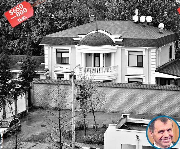 Джарты облюбовал элитную высотку, а Куницын обустроился в четырехэтажном особняке: журналисты разузнали, в каких хоромах живут крымские випы фото 3