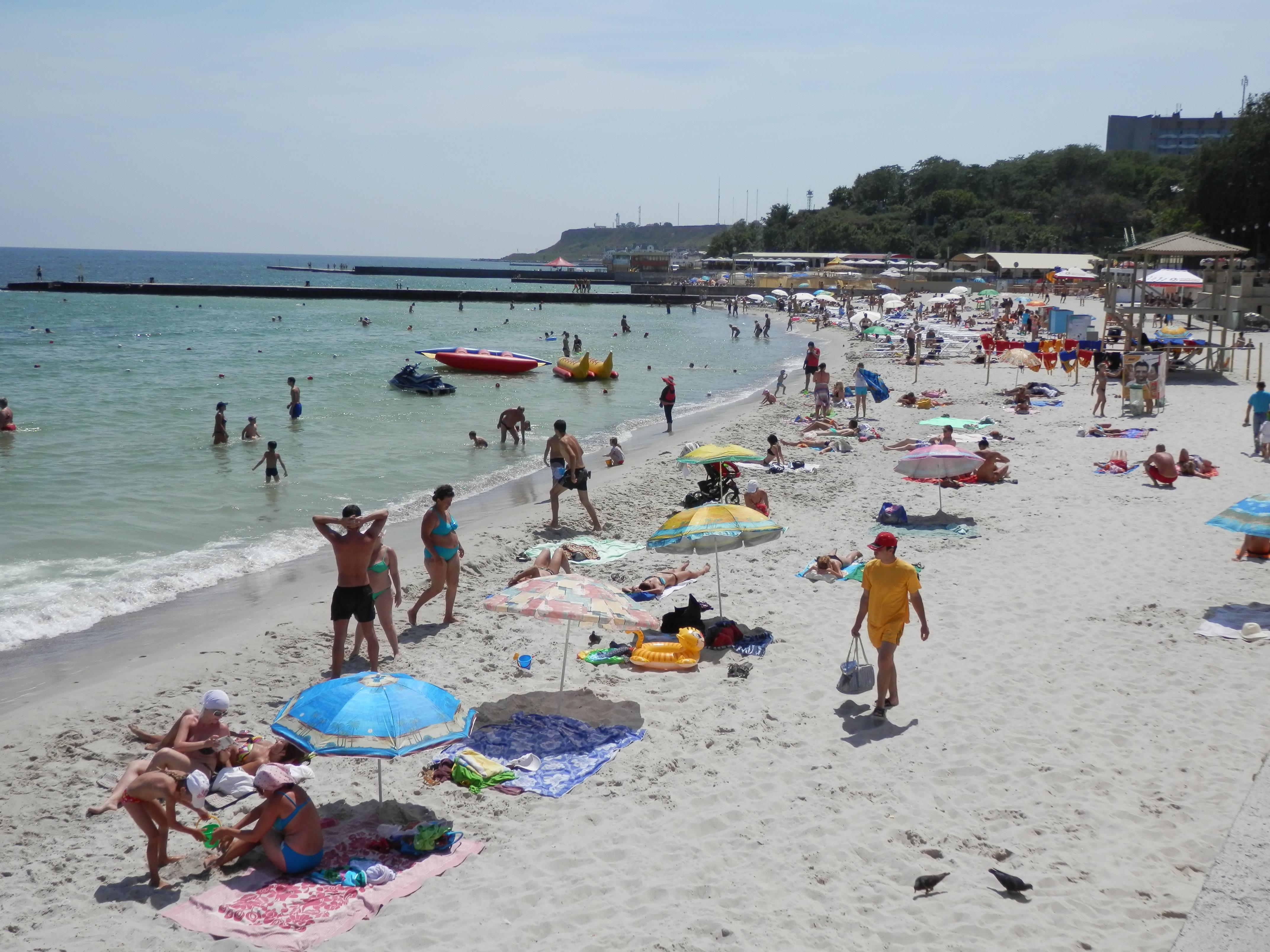 Фото жен на пляже 85
