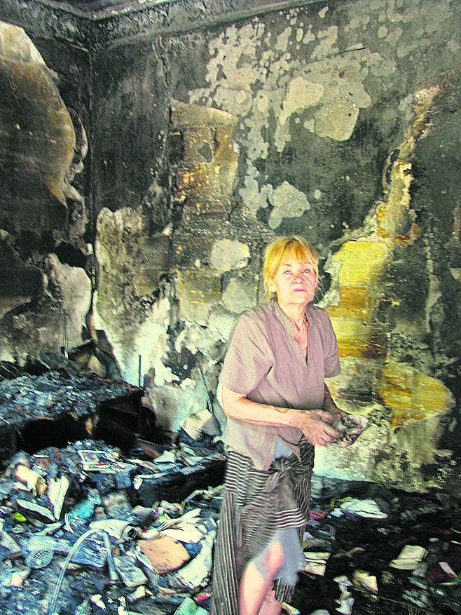 В жилом доме Одессы произошел крупный пожар: уничтожено более 10 квартир