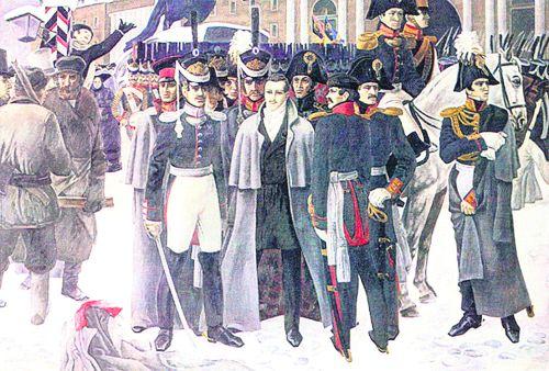Сегодня 185 лет со дня восстания Декабристов на Сенатской площади (14 декабря по старому стилю).  В связи с этим хочу...