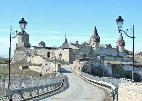 Каменец-Подольский.  В начале XIX века крепость потеряла военное значение и стала местом заключения.