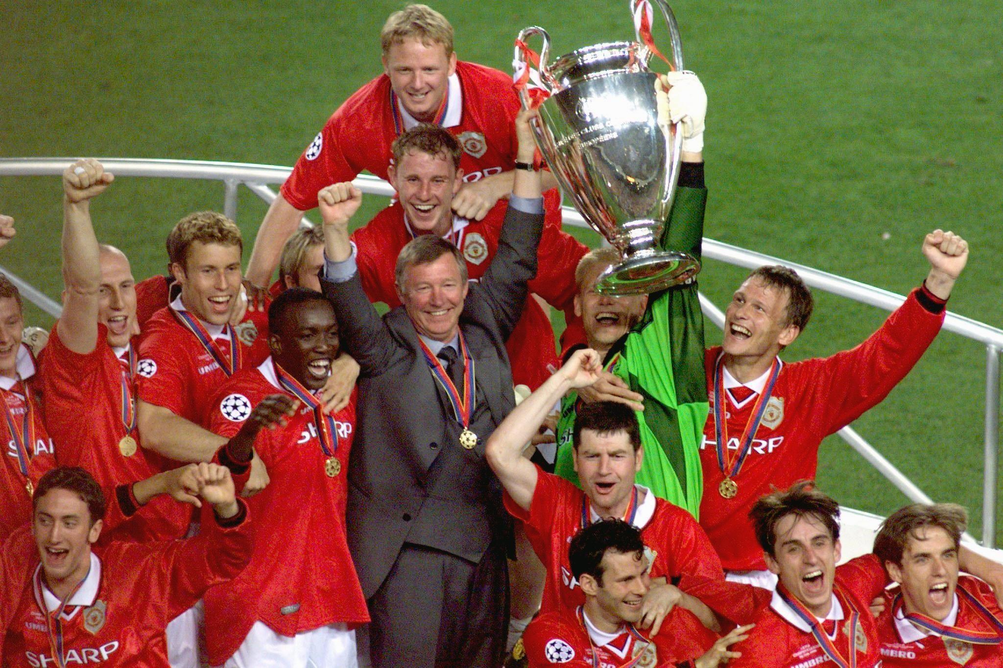 Манчестер юнайтед лига чемпионов 1999