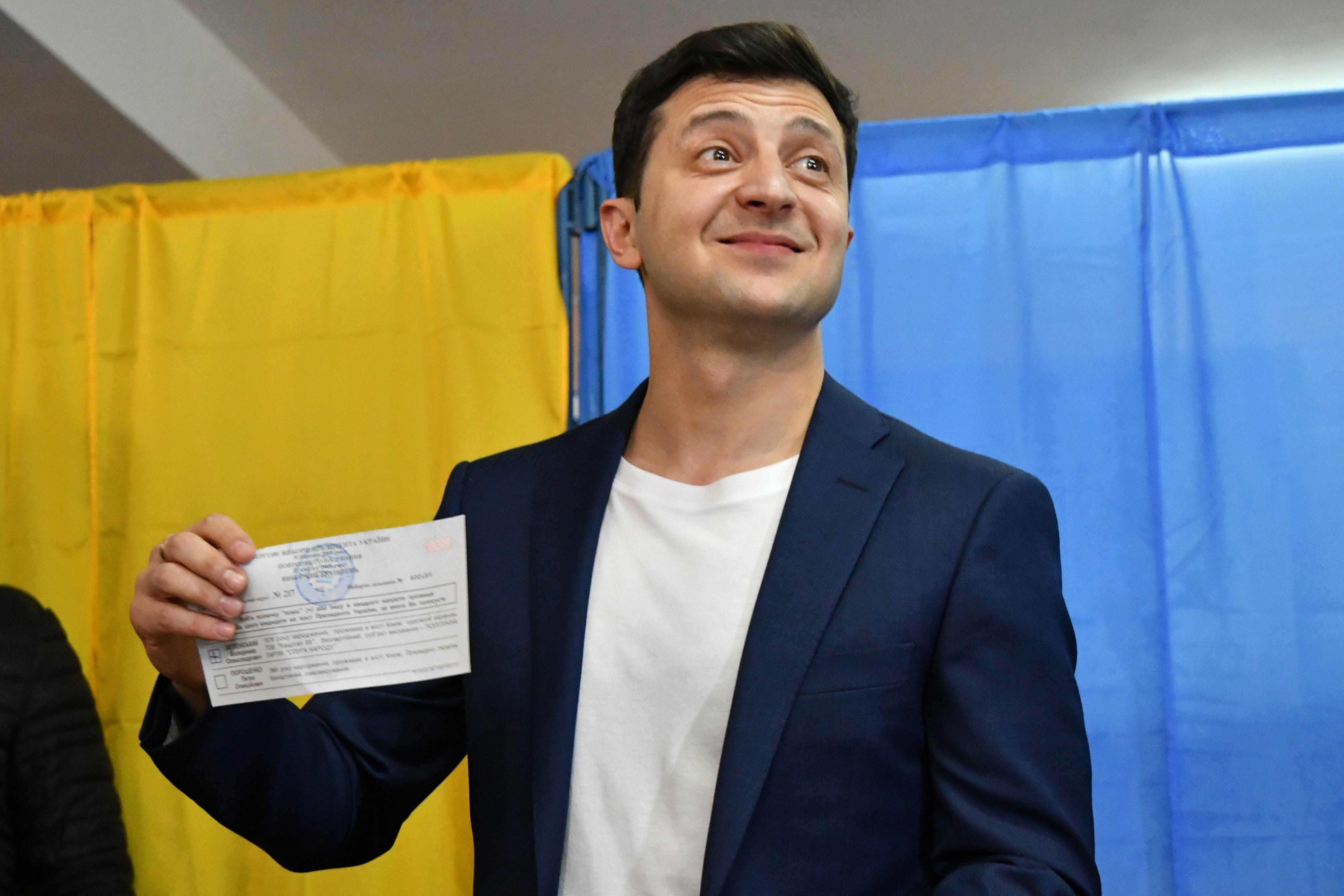 Зеленський сплатив штраф за показаний у 2-му турі виборів бюлетень - Цензор.НЕТ 9923