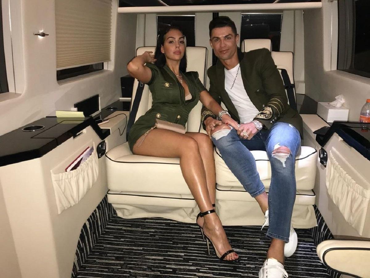 Невеста Роналду рассказала о знакомстве с футболистом и их отношениях   Футбол СЕГОДНЯ