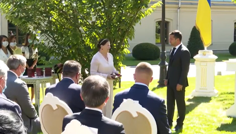 Нина Матвиенко, Сергей Танчинец и Дмитрий Комаров получили государственные награды